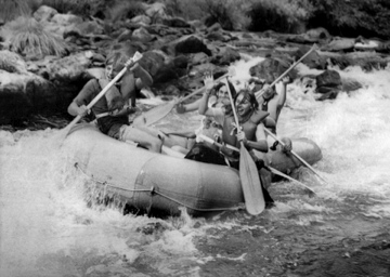Early Days of Rafting