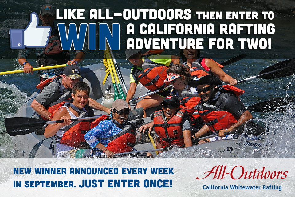 All-Outdoors Rafting Giveaway