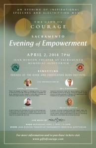 Sacramento Evening Of Empowerment Poster