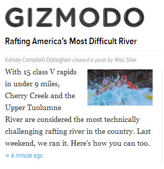 Gizmodo: Rafting America's Most Difficult River