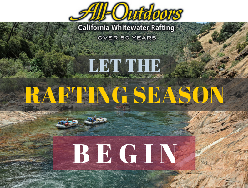 The Spring Rafting Season Is Here
