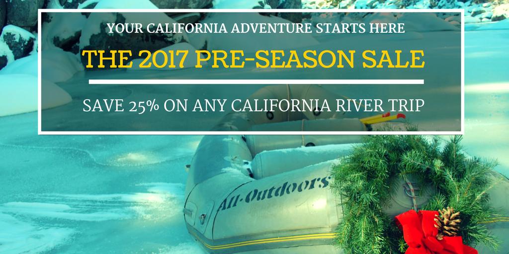 2017 Pre Season Sale