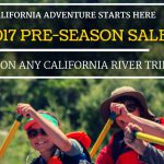 2017 Pre-Season Sale: Go Rafting and Save Big!