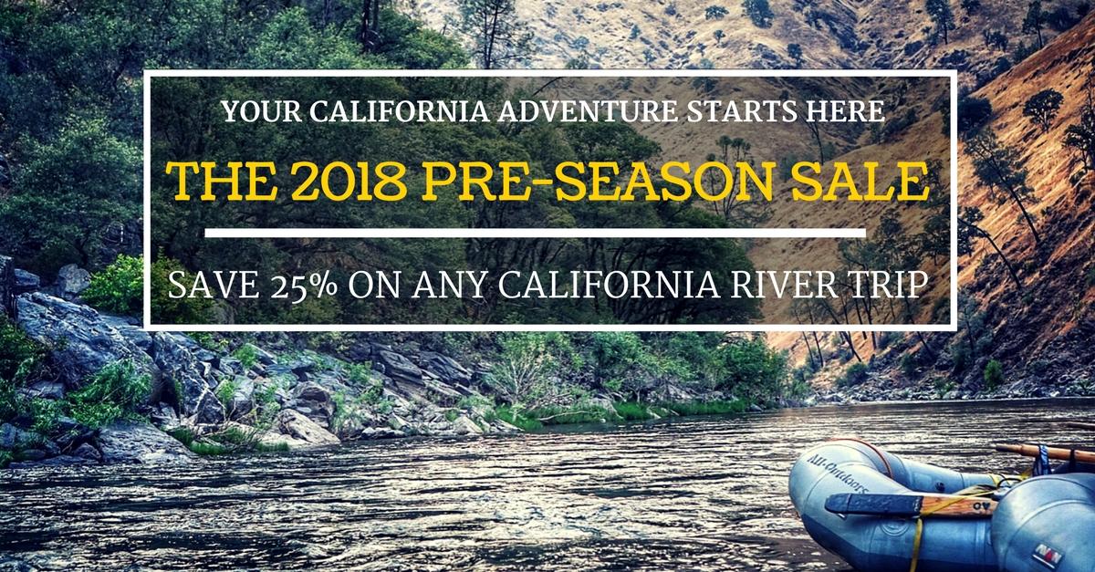 2018 Pre-Season Sale: Go Rafting and Save Big!