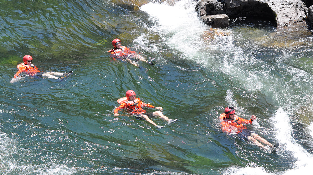 Swimmers Rapid on the South Fork American