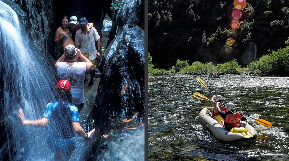 Side Hikes and Inflatable Kayaks