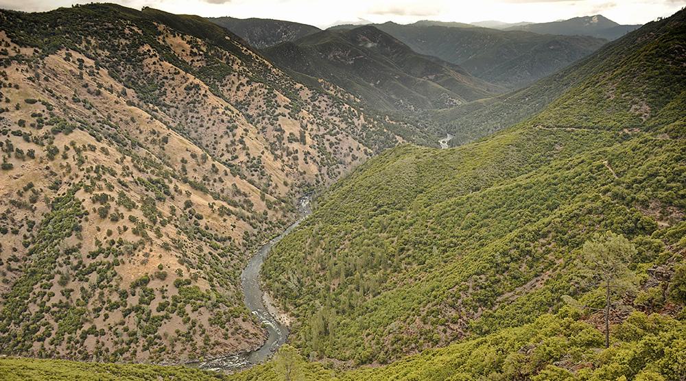 Remote Tuolumne Canyon