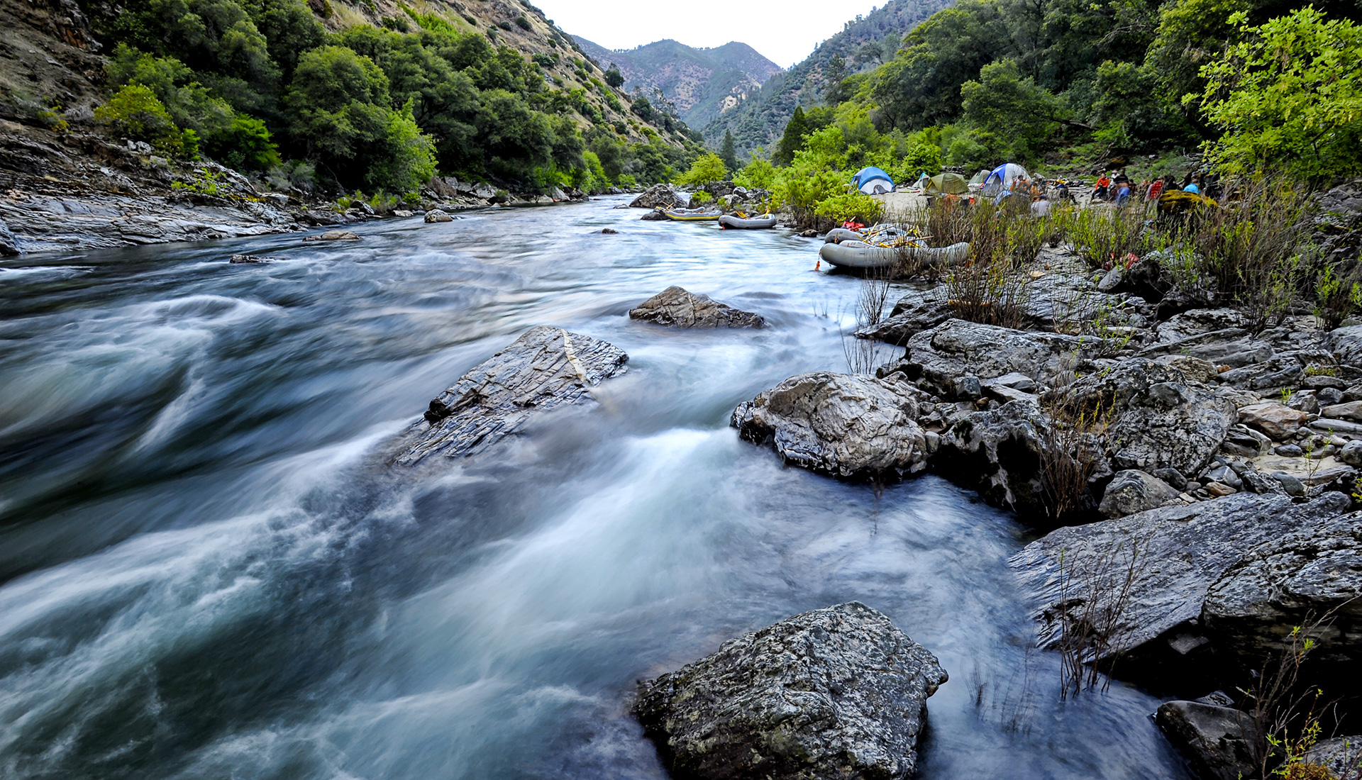 California Multi-Day Rafting Trip