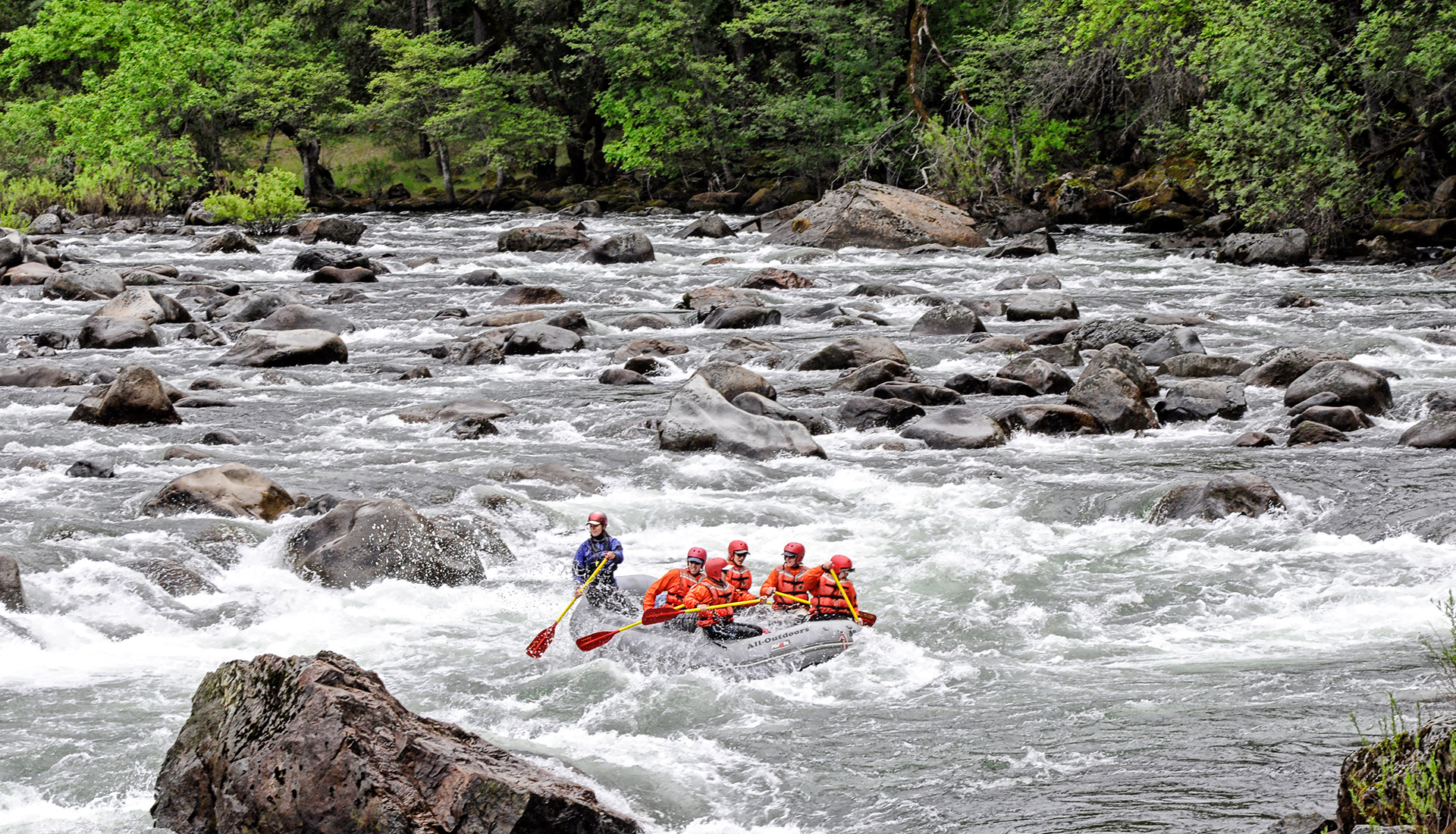 The 4 R's: Rivers, Rock, Rafts, & Rafters