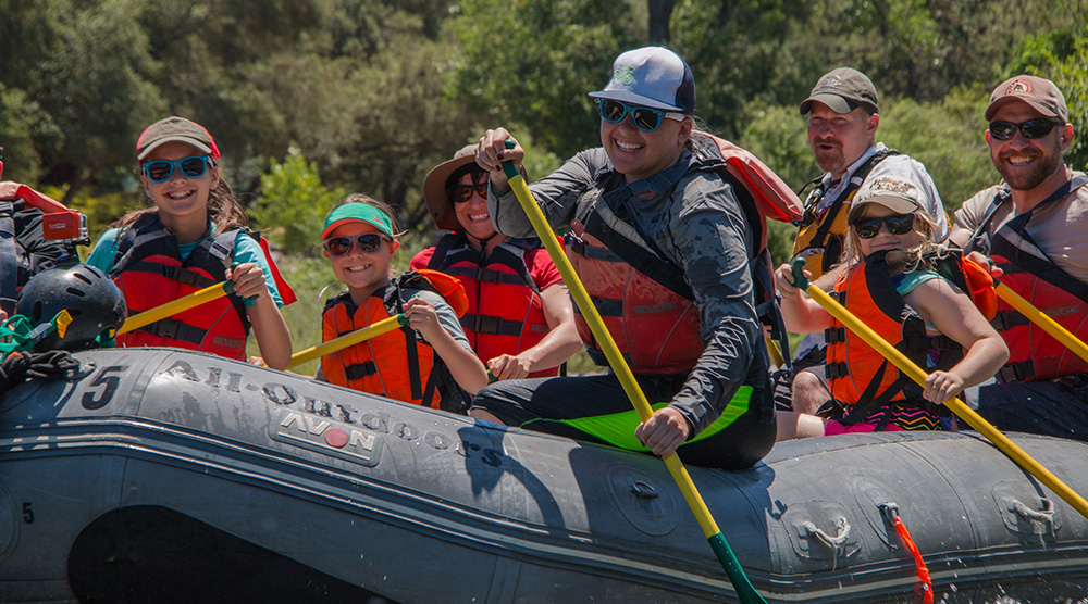 Family Rafting Trips for Kids 12 and Up
