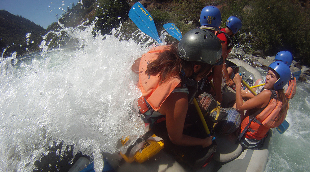 Family rafting trips for kids 15 and up