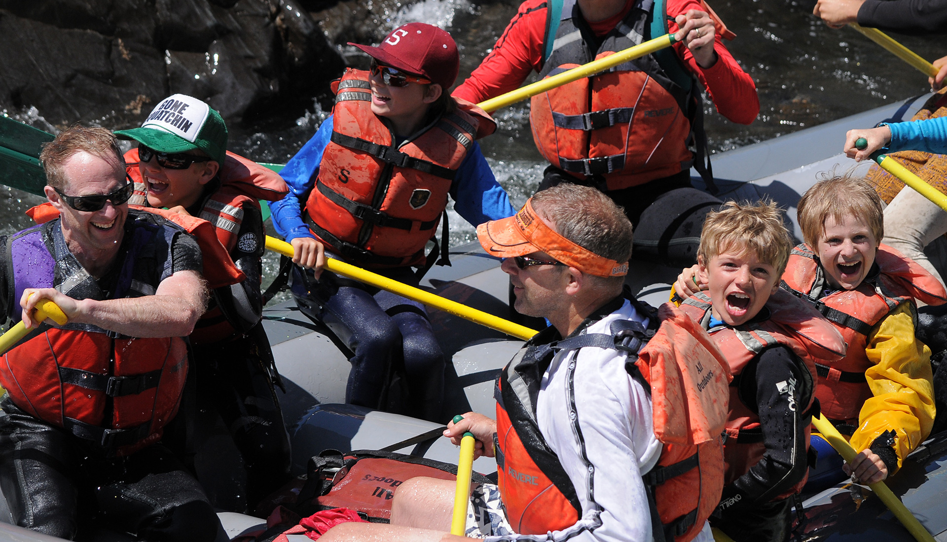 Best California Rafting Trip for Your Family