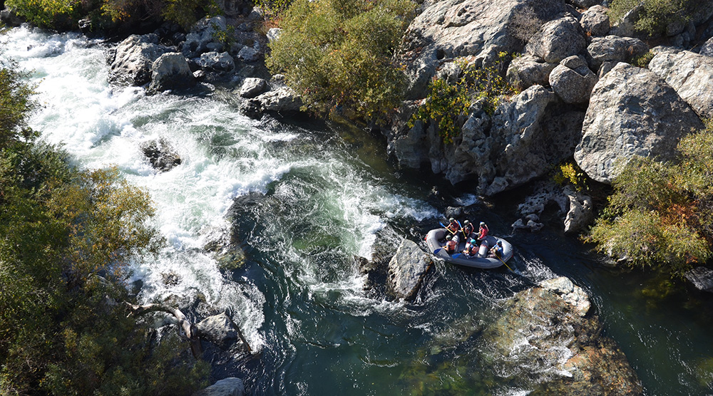 Fall Rafting on Goodwin Canyon