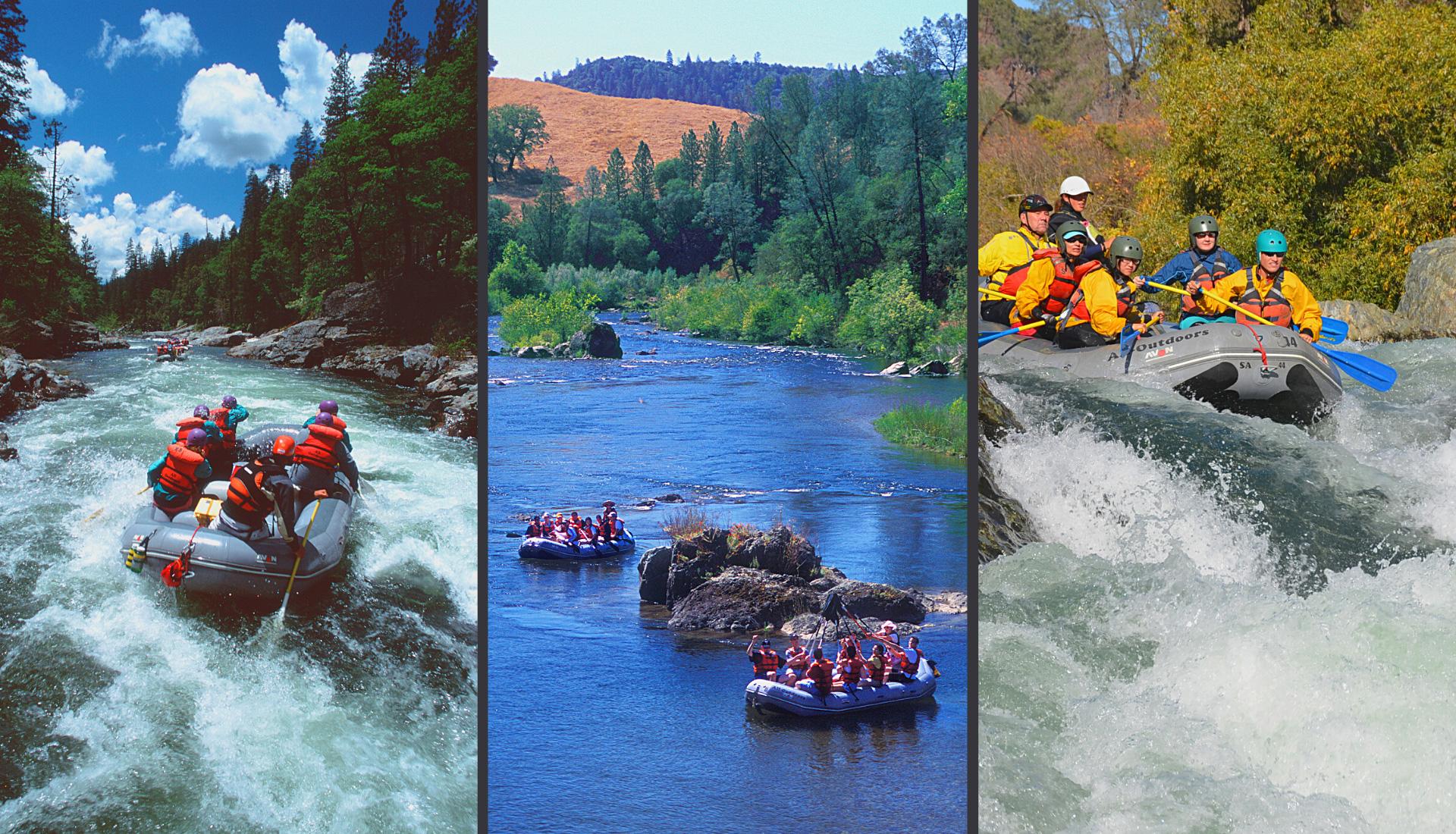 "The 3 ""Seasons"" of the California Rafting Season"