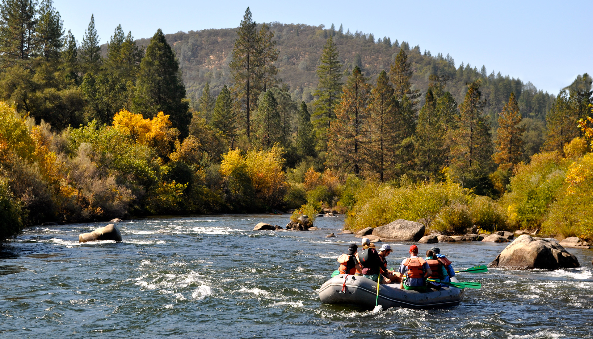 Fall Rafting in California