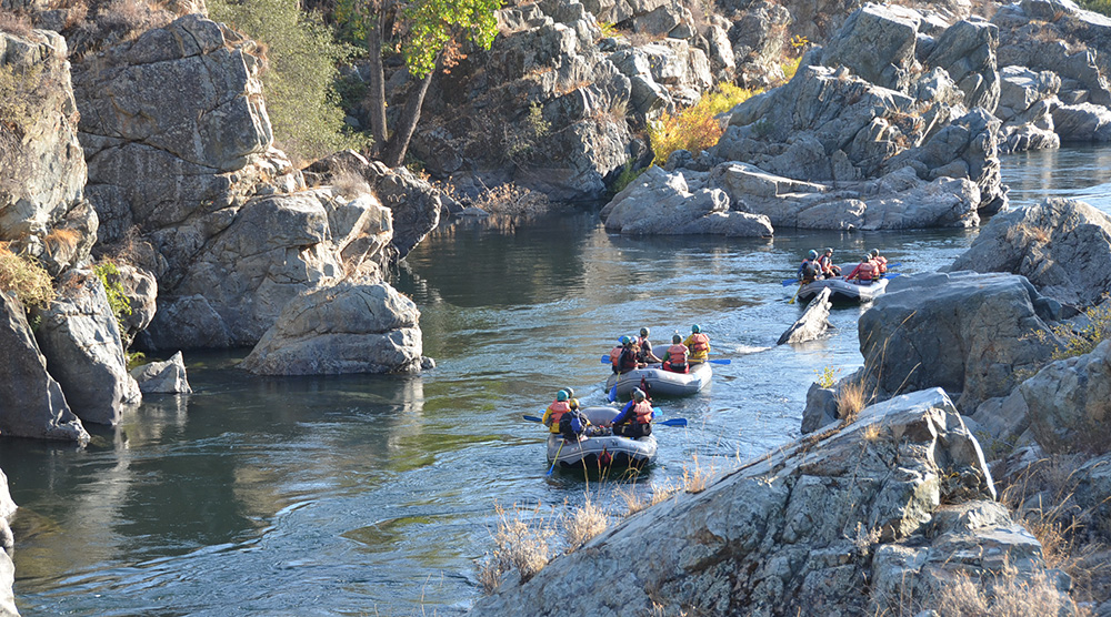 Fall Rafting on the Middle Fork American