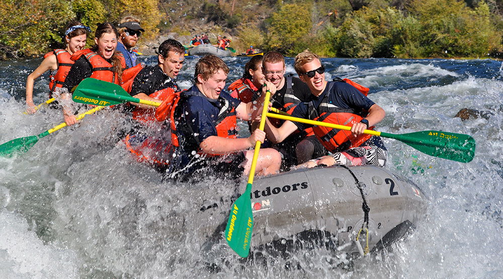 Fall Rafting on the South Fork American