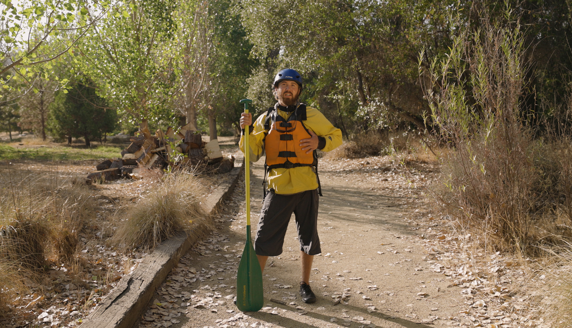 What to wear for fall rafting in California